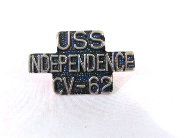USS Independence CV-62 Ship Name Lapel Pin