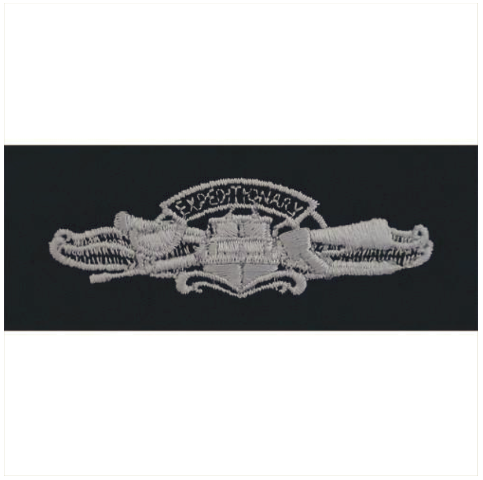 Vanguard NAVY EMBROIDERED BADGE: EXPEDITIONARY WARFARE - EMBROIDERED ON COVERALL