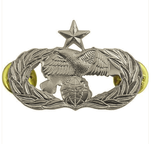 Vanguard AIR FORCE BADGE: TRANSPORTATION: SENIOR - MIDSIZE