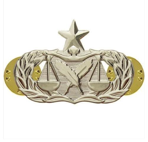 Vanguard AIR FORCE BADGE: PARALEGAL: SENIOR - MIDSIZE