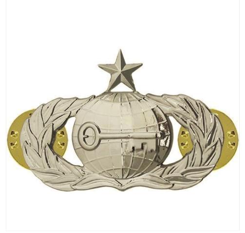 Vanguard AIR FORCE BADGE: INTELLIGENCE: SENIOR - MIDSIZE