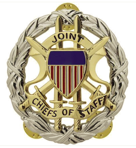 Vanguard ARMY IDENTIFICATION BADGE: JOINT CHIEFS OF STAFF - BLOUSE SIZE MIRROR