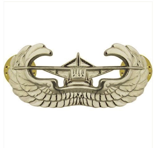 Vanguard ARMY BADGE: AIRBORNE GLIDER - MIRROR FINISH