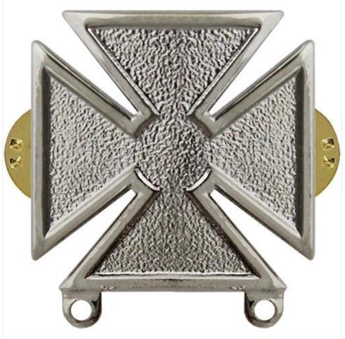 Vanguard US Army Marksman Badge Regulation Size Mirror Finish