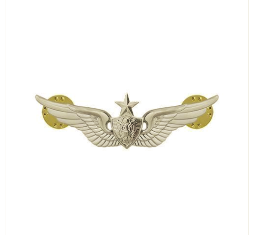 Vanguard ARMY DRESS BADGE: SENIOR AIRCRAFT CREWMAN: AIRCREW - MINIATURE, MIRROR