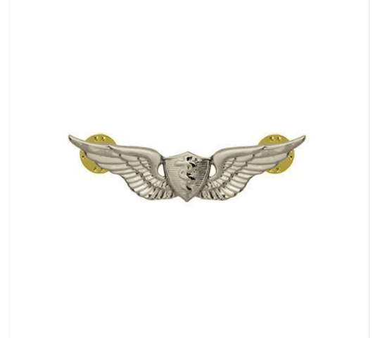 Vanguard ARMY BADGE: FLIGHT SURGEON - MINIATURE, MIRROR FINISH