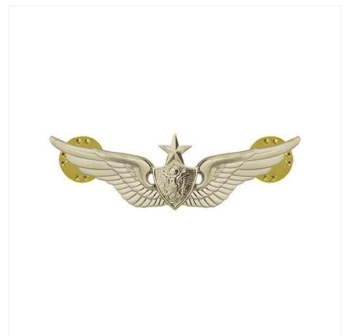 Vanguard ARMY BADGE: SENIOR AIRCRAFT CREWMAN: AIRCREW - MINIATURE, MIRROR FINISH