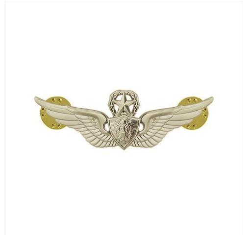 Vanguard ARMY BADGE: MASTER AIRCRAFT CREWMAN: AIRCREW - MINIATURE