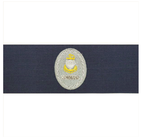 Vanguard COAST GUARD BADGE: ENLISTED ADVISOR E7 COMMAND: RIPSTOP FABRIC
