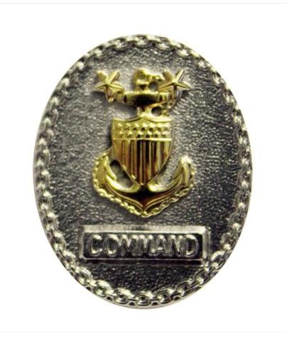 Vanguard COAST GUARD BADGE: SENIOR ENLISTED ADVISOR E9 COMMAND - MINIATURE