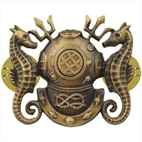 Vanguard BADGE: DIVING OFFICER - REGULATION SIZE