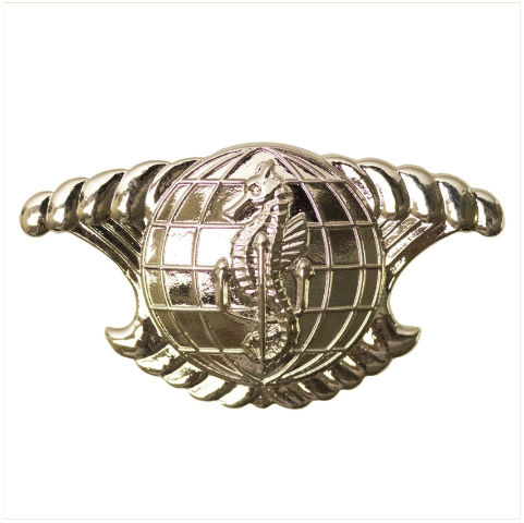 Vanguard NAVY BADGE INTEGRATED UNDERSEA'S SURVEILLANCE SYSTEM ENLISTED MIRROR
