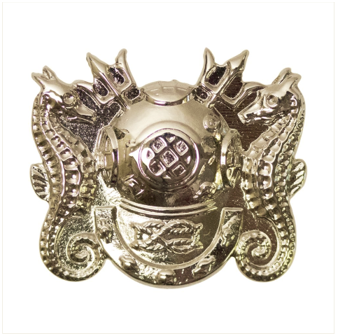 Vanguard NAVY BADGE: MASTER DIVER- MINIATURE, MIRROR FINISH