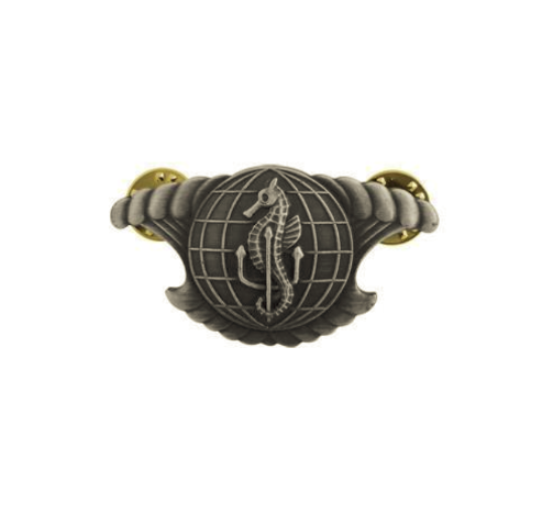 Vanguard NAVY BADGE: INTEGRATED UNDERSEA SURVEILLANCE SYSTEM ENLISTED MINIATURE