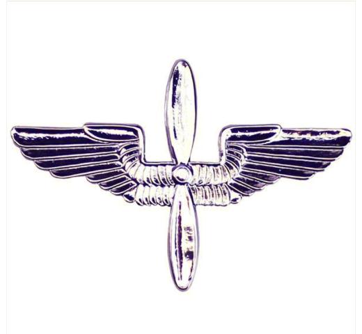 MIRROR FINISH GENUINE U.S NAVY BALL CAP DEVICE AVIATION MACHINISTS MATE