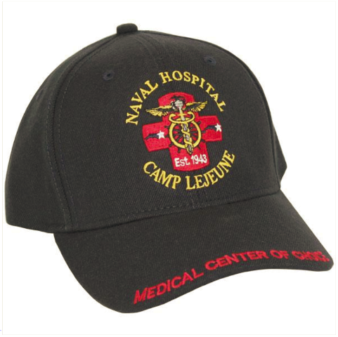 Vanguard NAVY BALL CAP: NAVAL HOSPITAL CAMP LEJEUNE