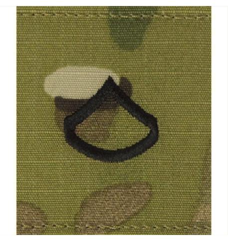 Vanguard ARMY GORTEX RANK: PRIVATE FIRST CLASS - OCP JACKET TAB