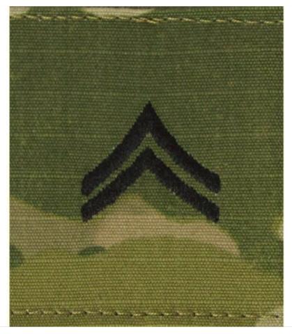 Vanguard ARMY GORTEX RANK: CORPORAL - OCP JACKET TAB