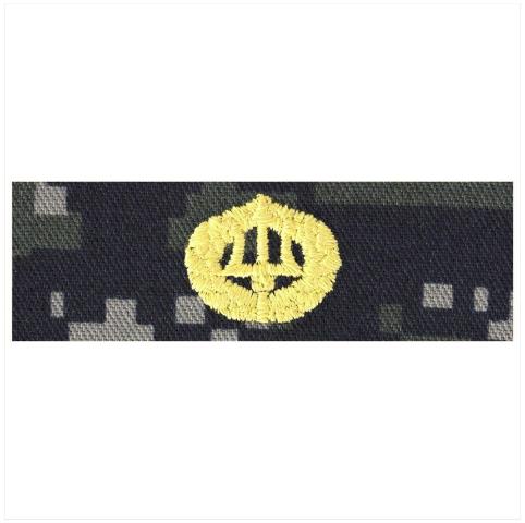 Vanguard NAVY EMBROIDERED BADGE: COMMAND ASHORE - TYPE I BLUE DIGITAL