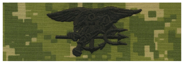 Vanguard NAVY EMBROIDERED BADGE: SPECIAL WARFARE - WOODLAND DIGITAL