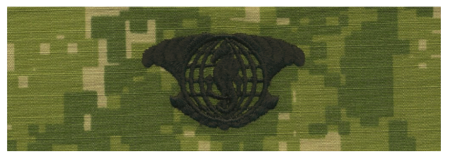 Vanguard NAVY EMBROIDERED BADGE: IUSS. - WOODLAND DIGITAL
