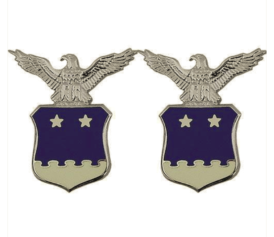 Vanguard AIR FORCE COLLAR DEVICE: AIDE TO THE LIEUTENANT GENERAL