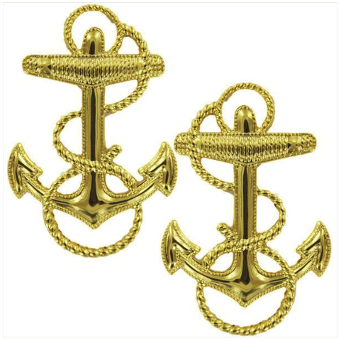 Vanguard NAVY LAPEL DEVICE: MIDSHIPMAN 1-13/16