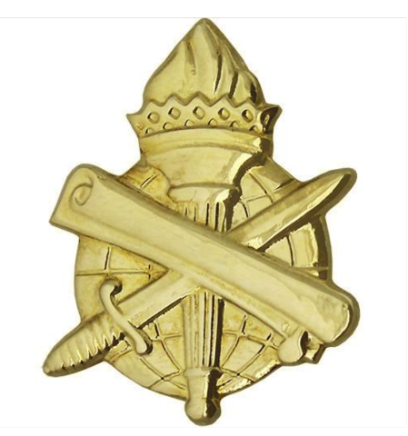 Vanguard ARMY OFFICER BRANCH OF SERVICE COLLAR DEVICE: CIVIL AFFAIRS