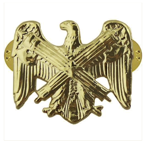 Vanguard ARMY OFFICER BRANCH OF SERVICE COLLAR DEVICE: NATIONAL GUARD