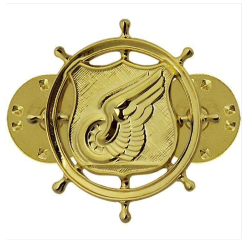 Vanguard ARMY OFFICER BRANCH OF SERVICE COLLAR DEVICE: TRANSPORTATION