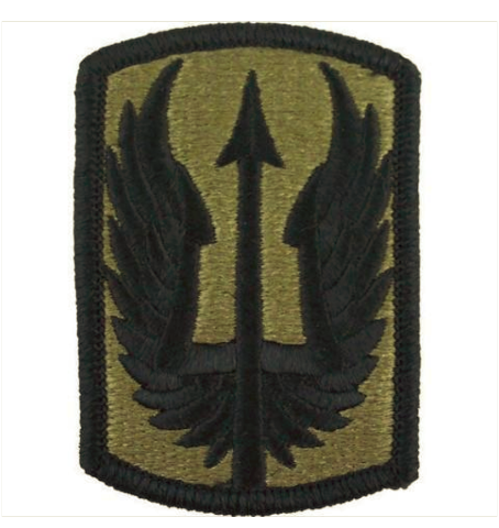 Vanguard ARMY PATCH: 185TH AVIATION BRIGADE - EMBROIDERED ON OCP