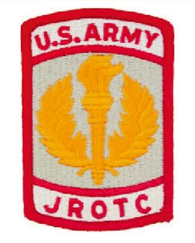 Vanguard ARMY JROTC PATCH: U.S. ARMY JROTC FULL COLOR
