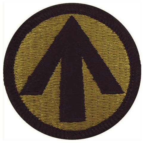 Vanguard ARMY PATCH: MILITARY SURFACE DEPLOYMENT - EMBROIDERED ON OCP