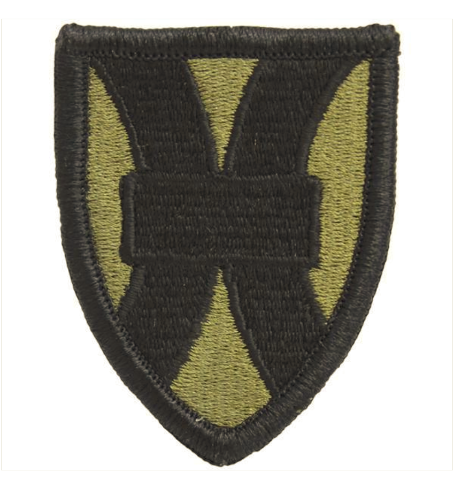 Vanguard ARMY PATCH: 21ST SUSTAINMENT COMMAND - EMBROIDERED ON OCP