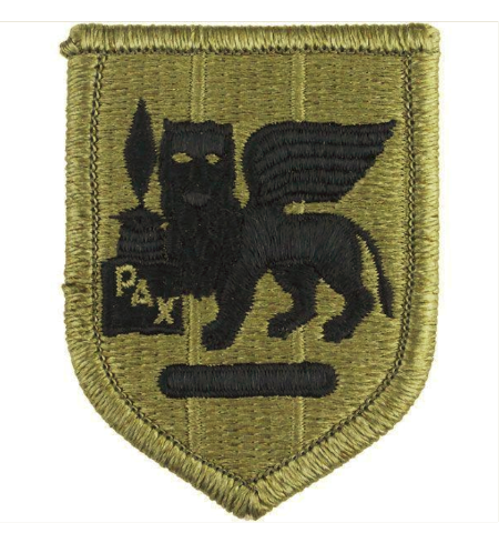 Vanguard ARMY PATCH: AFRICA AND SOUTHERN EUROPEAN TASK FORCE EMBROIDERED ON OCP