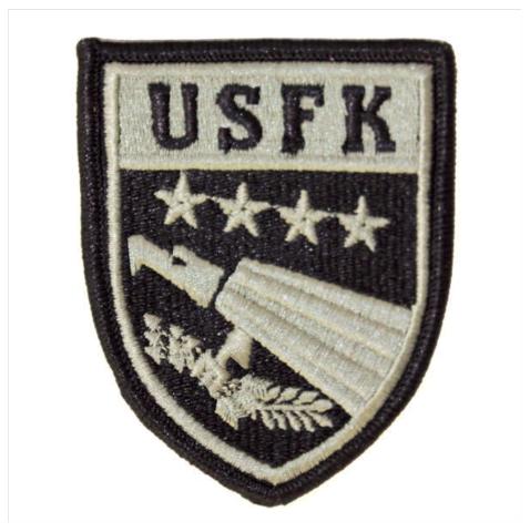 Vanguard ARMY PATCH: U.S. FORCES KOREA - EMBROIDERED ON ACU