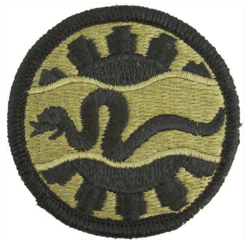 Vanguard ARMY PATCH: 116TH CAVALRY - EMBROIDERED ON OCP