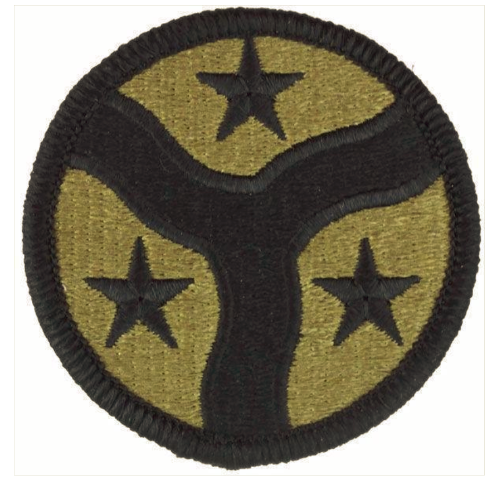 Vanguard ARMY PATCH: 278TH ARMORED CAVALRY REGIMENT - EMBROIDERED ON OCP