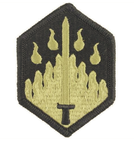 Vanguard ARMY PATCH: 48TH CHEMICAL BRIGADE - EMBROIDERED ON OCP