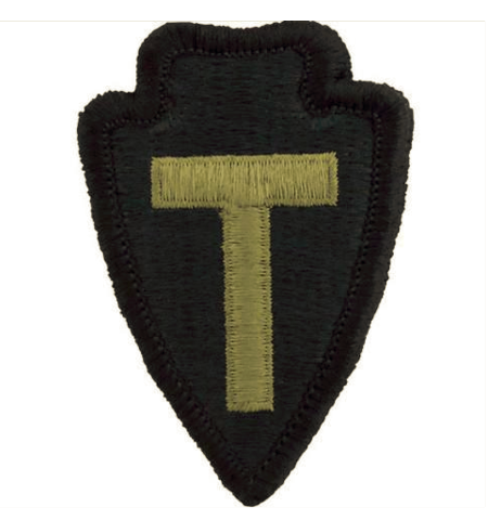 Vanguard ARMY PATCH: 36TH INFANTRY DIVISION - EMBROIDERED ON OCP