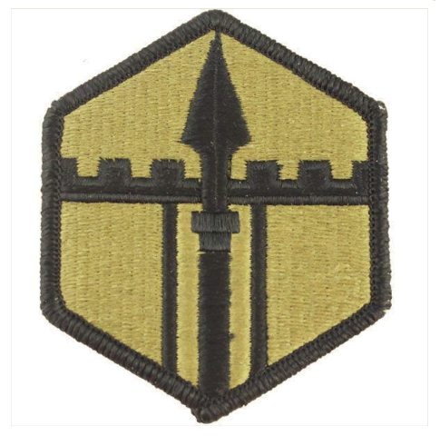 Vanguard ARMY PATCH: 301ST MANEUVER ENHANCEMENT BRIGADE - EMBROIDERED ON OCP