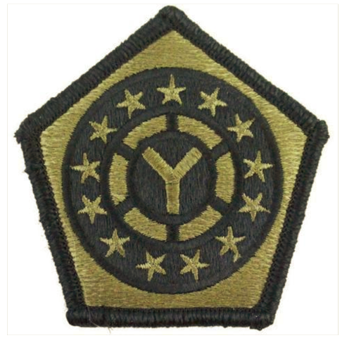 Vanguard ARMY PATCH: 108TH SUSTAINMENT BRIGADE - EMBROIDERED ON OCP