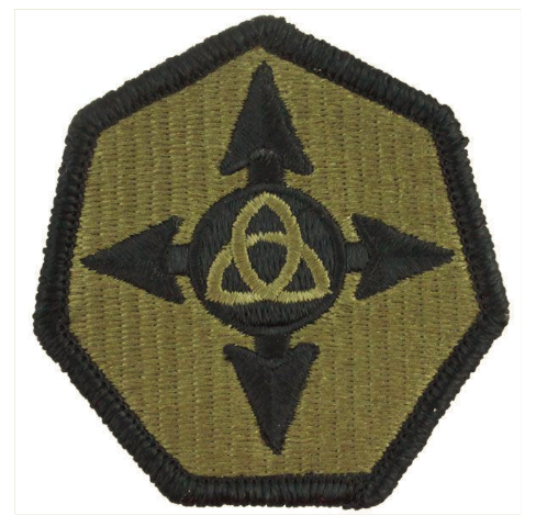 Vanguard ARMY PATCH: 364TH SUSTAINMENT COMMAND - EMBROIDERED ON OCP