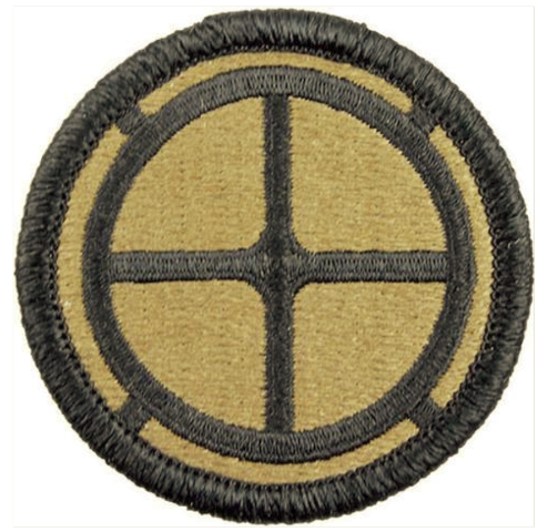 Vanguard ARMY PATCH: 35TH INFANTRY BRIGADE - EMBROIDERED ON OCP