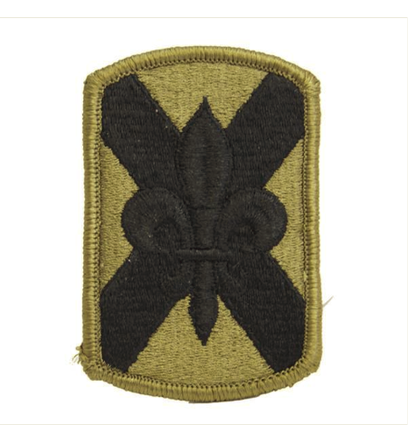 Vanguard ARMY PATCH: 256TH INFANTRY BRIGADE - EMBROIDERED ON OCP