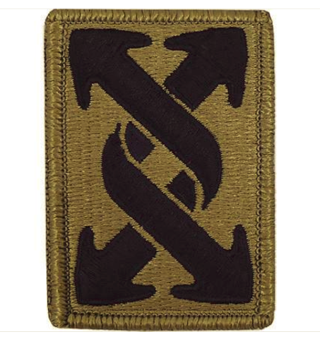Vanguard ARMY PATCH: 143RD TRANSPORTATION COMMAND - EMBROIDERED ON OCP