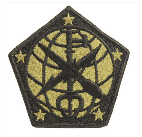 Vanguard ARMY PATCH: 704TH MILITARY INTELLIGENCE BRIGADE - EMBROIDERED ON OCP