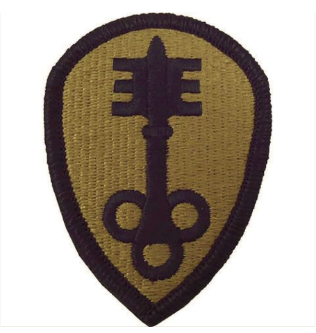 Vanguard ARMY PATCH: 300TH MILITARY POLICE BRIGADE - EMBROIDERED ON OCP