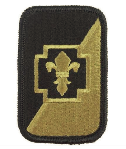 Vanguard ARMY PATCH: 62ND MEDICAL BRIGADE - EMBROIDERED ON OCP
