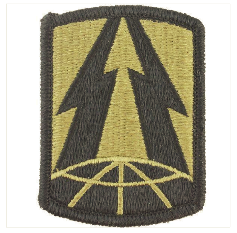 Vanguard ARMY PATCH: 335TH SIGNAL COMMAND - EMBROIDERED ON OCP